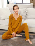 Long-sleeved t-shirt Cocktail brown Reverie
