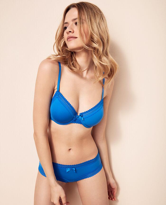 Shorty Bleu samba Beaute