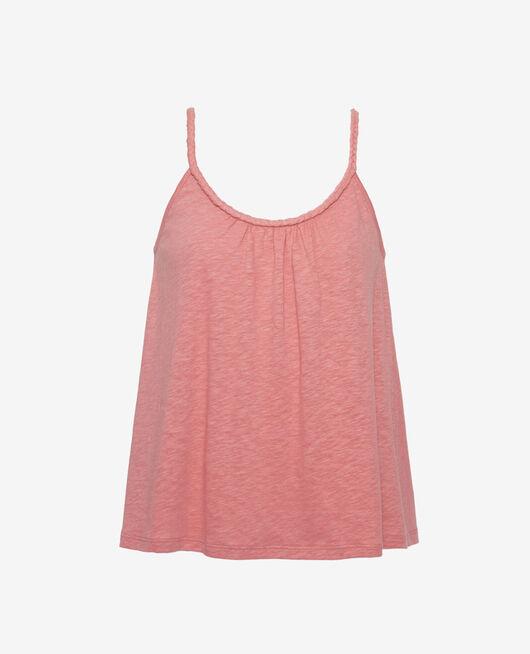 T-shirt sans manches Beige dune Argan