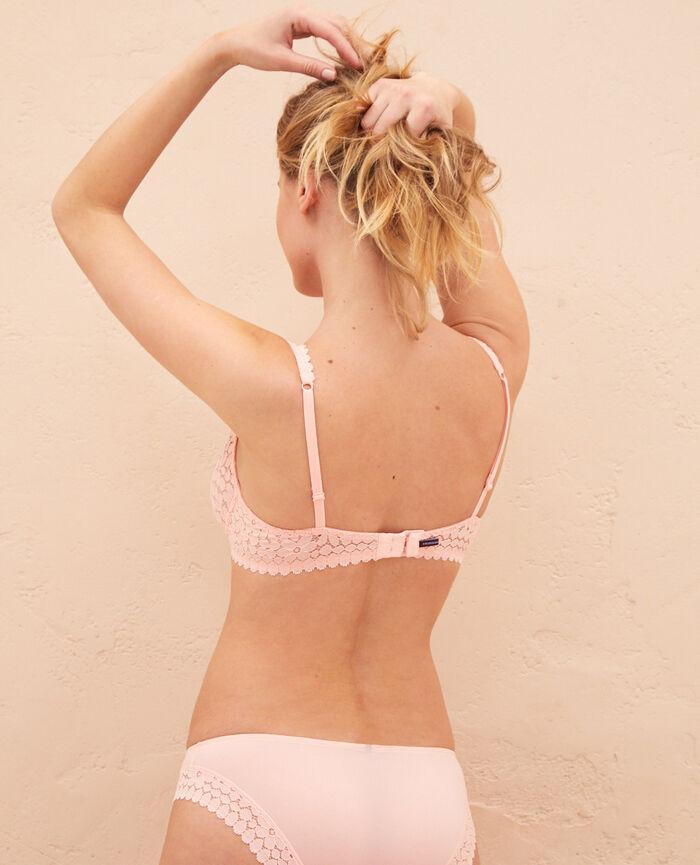 Underwired triangle bra Pink gazelle Monica