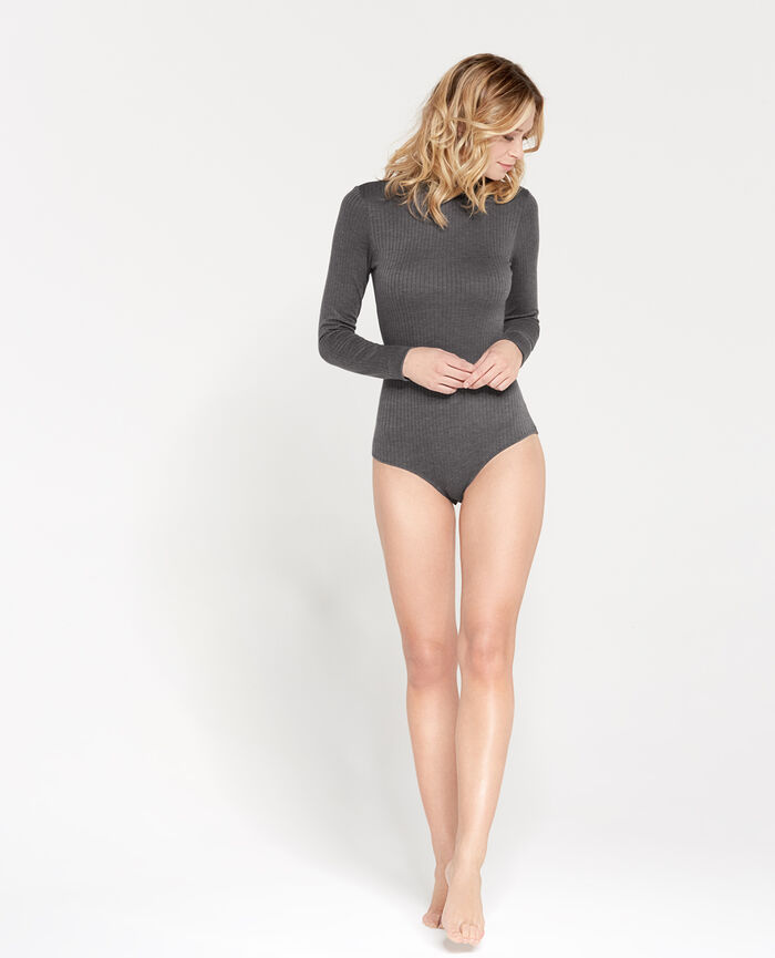 Body Gris chiné Infinity