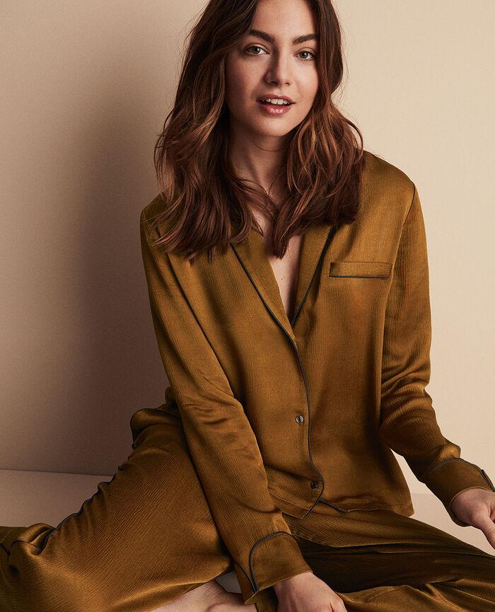 Veste de pyjama Bronze Subtil