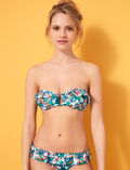 Strapless bikini top Multicolour Frida
