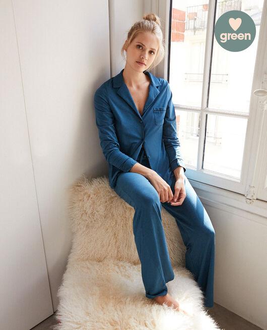 Veste de pyjama Bleu jazz Dimanche