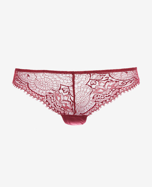 Tanga Camelia red Chic