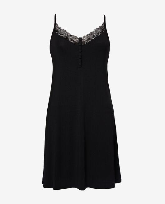 Short nightie Black Reverie