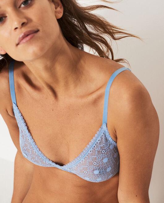 Soft cup bra Ash blue Confetti