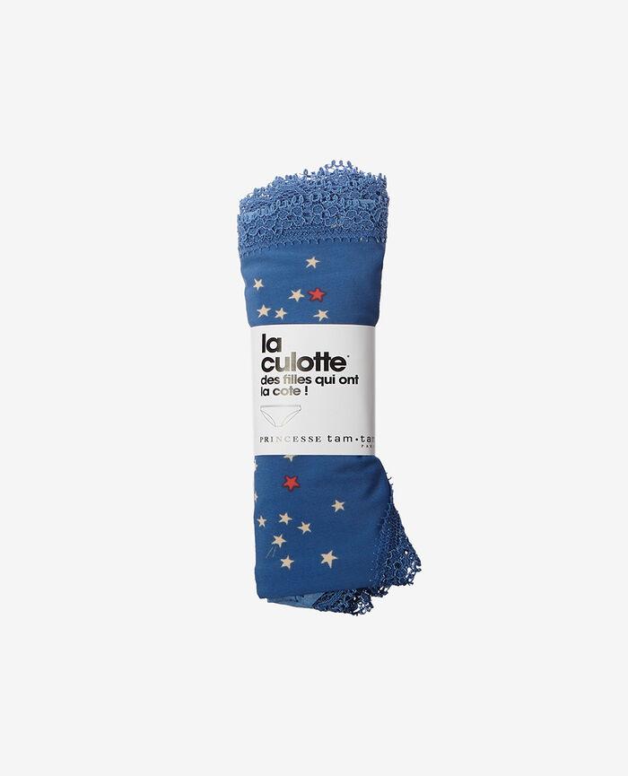 Culotte taille basse Lune bleu Take away