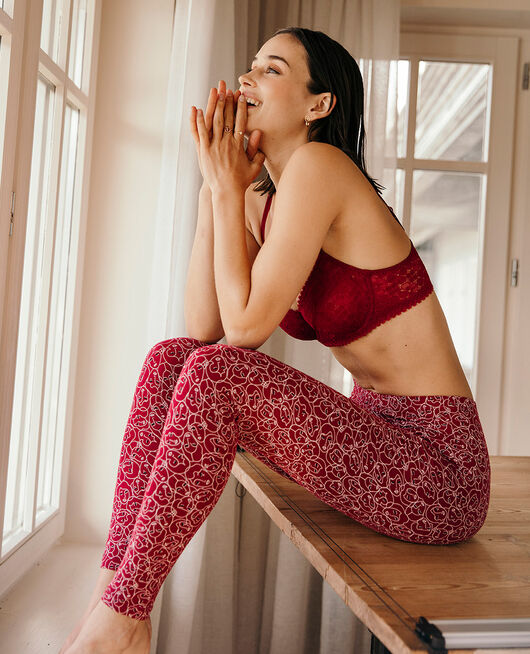 Leggings Mona red Tamtam shaker