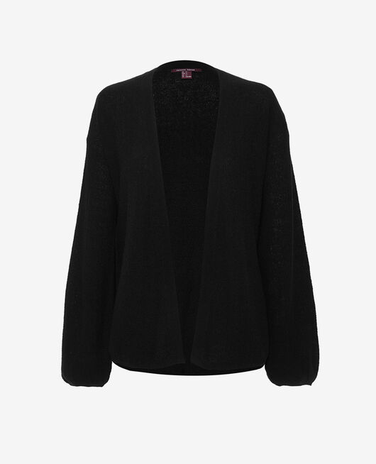 Mid-length jacket Black Majorelle