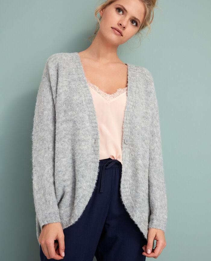 Long-sleeved cardigan Grey Loop