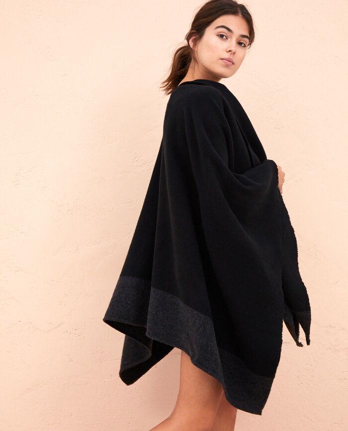 Poncho Noir Soft