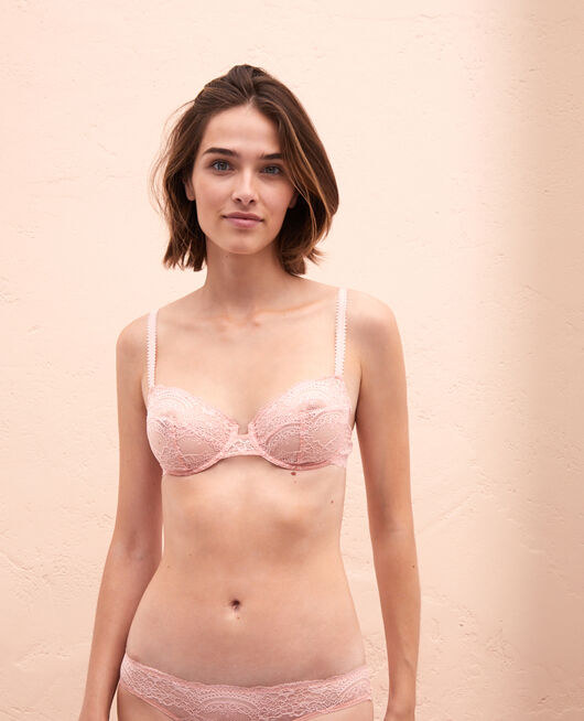 Half-cup bra Pink cloud Esquisse
