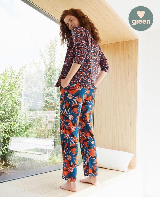 Pantalon Marguerite brun Crepuscule