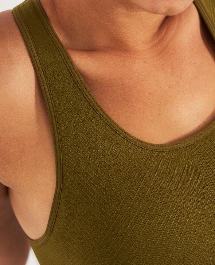Sports bra light support Green bowie Yoga