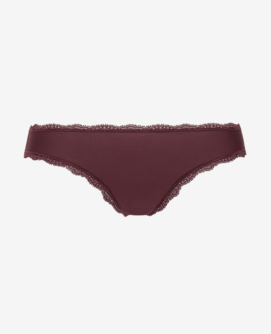 Culotte taille basse Prune Take away