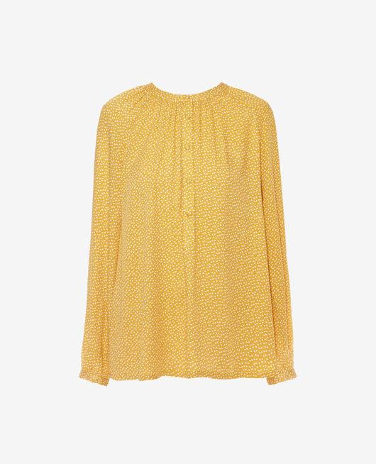 Chemise manches longues Dandelion jaune Amplitude