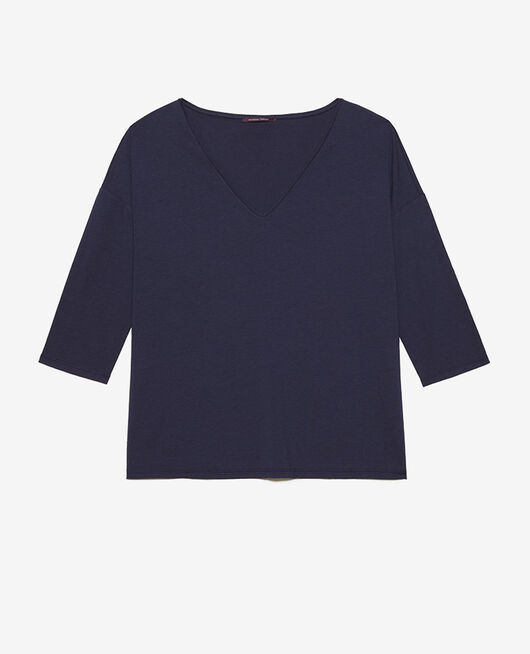 Long-sleeved t-shirt Navy Paresse