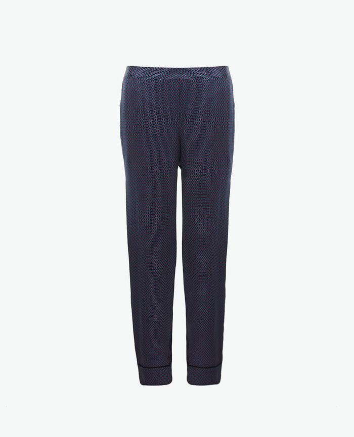 Trousers Dots blue Aurore