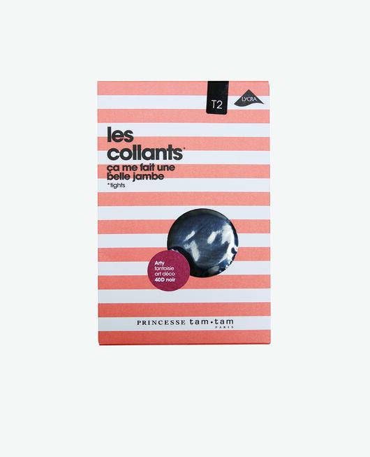 Collants 40d Noir Arty
