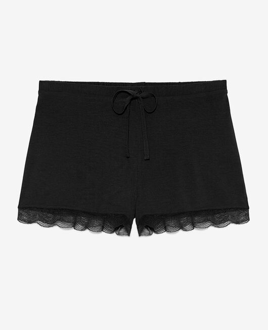 Pyjama shorts Black Douceur