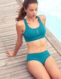 Culotte de bain sport Vert mezcal Aqua