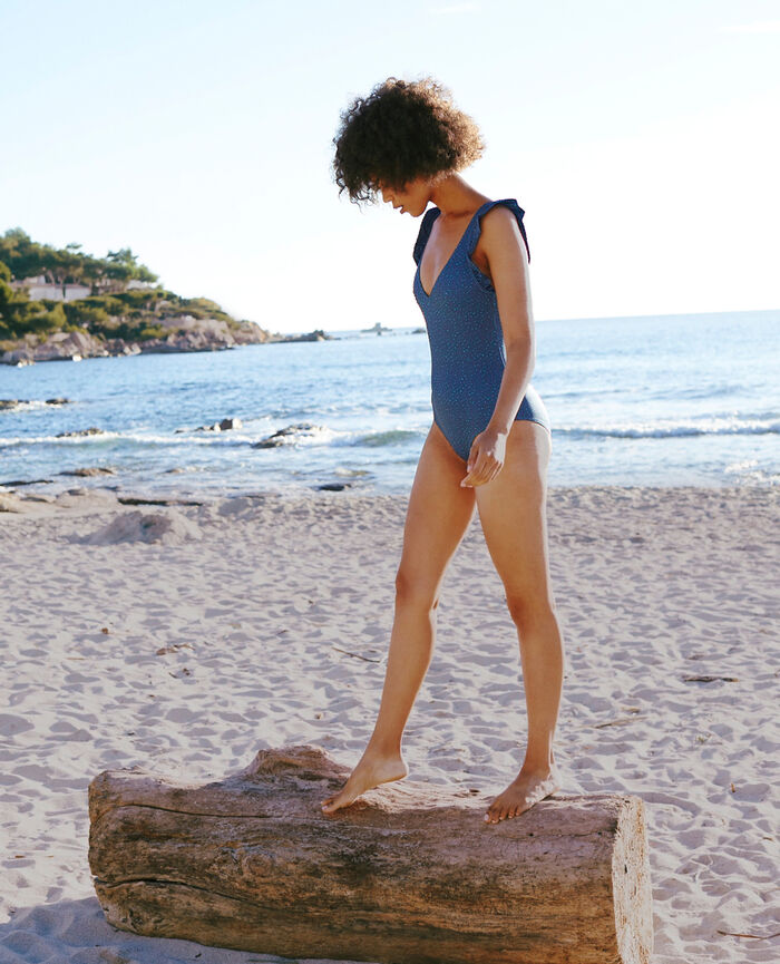 Swimsuit Leo blue sombrero Farah color