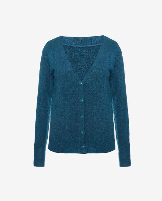 Long-sleeved cardigan Jazz blue Sweet