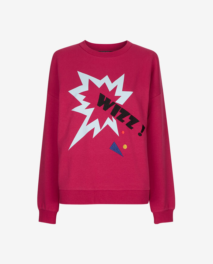 Sweater Sangria red Sweat collection