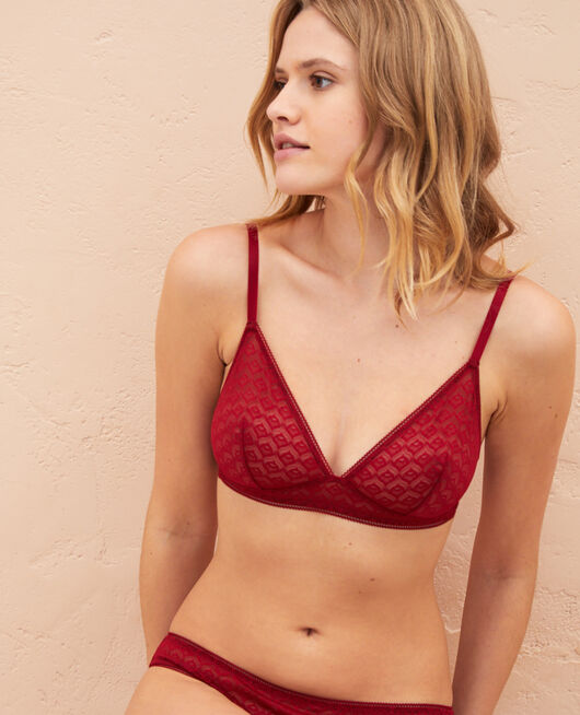 Soft cup bra Henne brown Encens