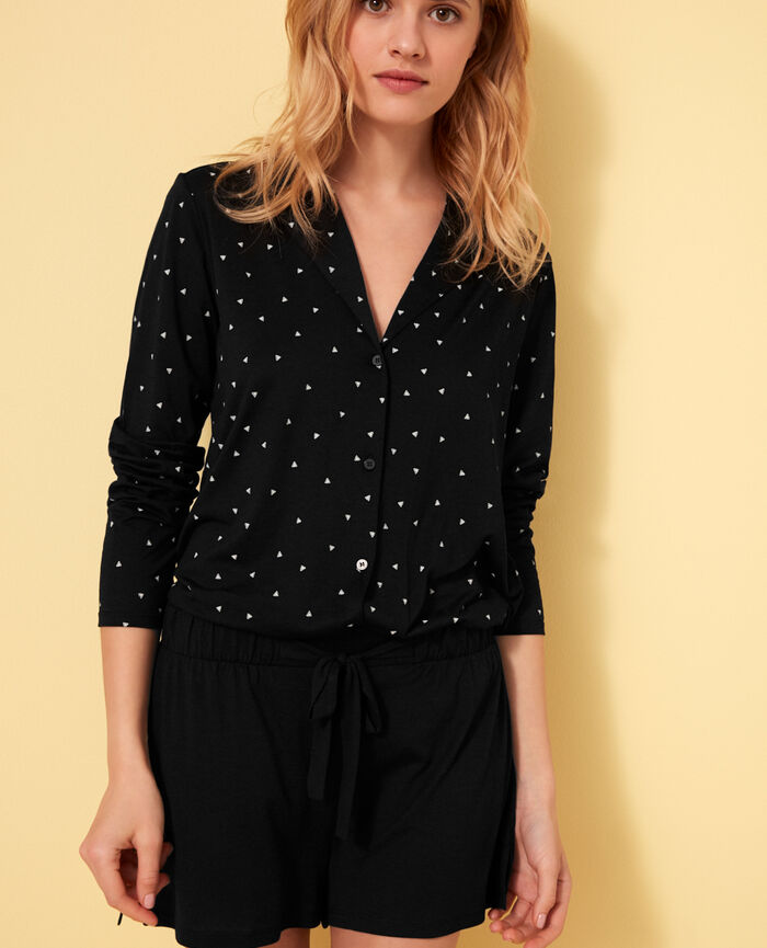 Veste de pyjama Moonlight Latte