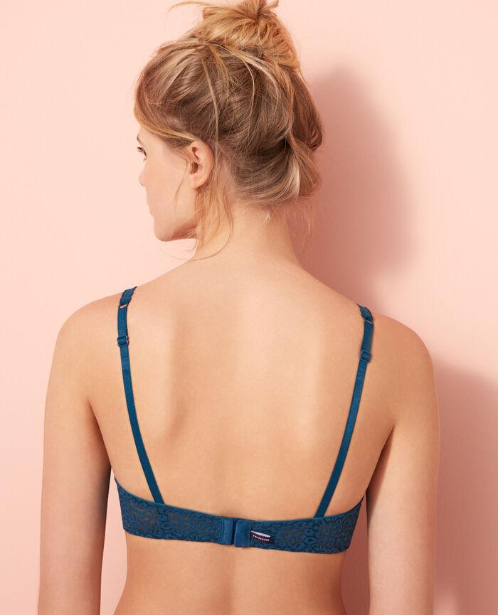 Underwired triangle bra Sombrero blue Belle