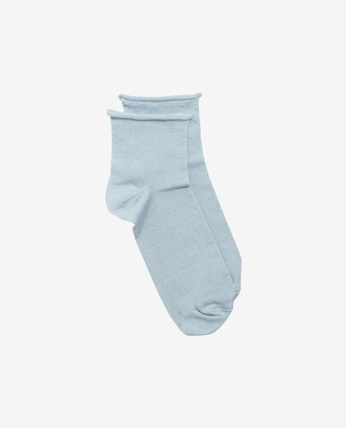 Socks Skyscraper blue Pearl