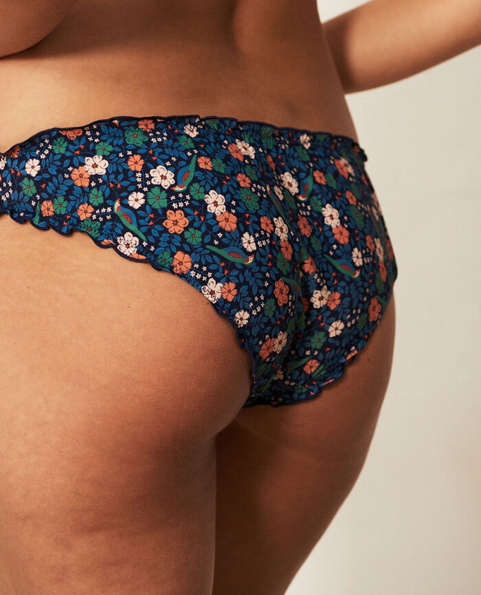 Ruffle brief Navy liberty Take away