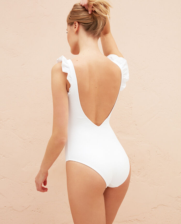 Swimsuit White Farah