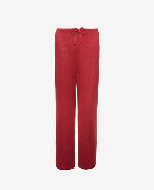 Pyjama trousers Henne brown Latte organic