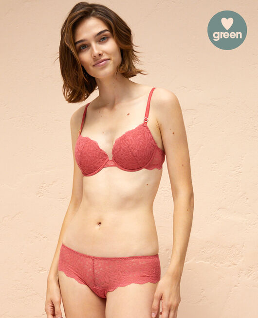 Brazilian briefs Peony red Muse