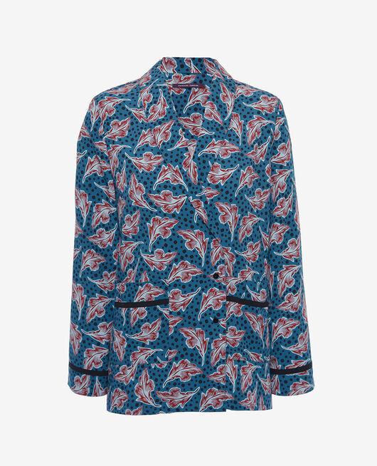 Pyjama jacket Orient green Bahia