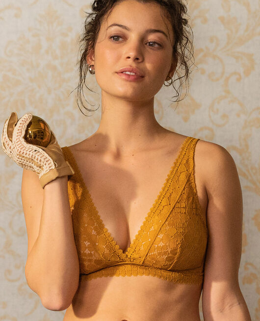 Soft cup bra Cumin yellow Josephine