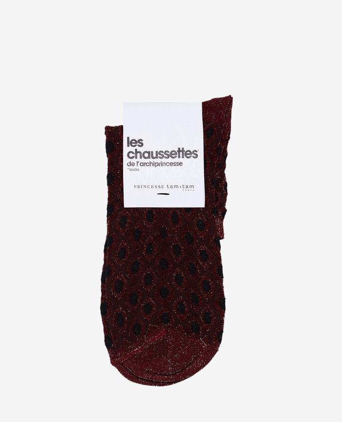 Socks Cassis red Jazz