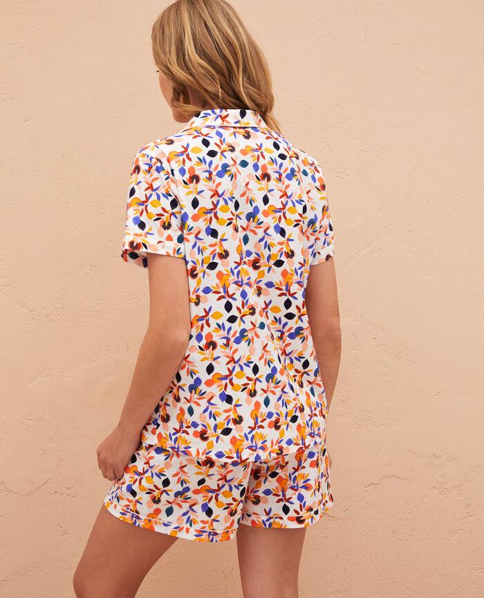 Pyjama set Lemon white Princesse tam.tam x uniqlo