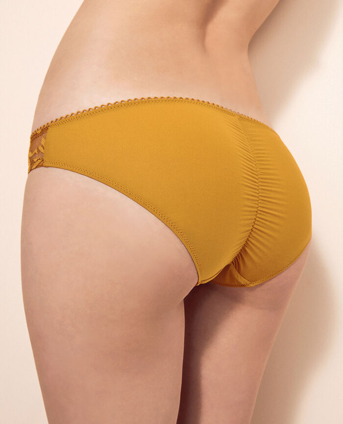 Hipster briefs Turmeric brown Monkeys