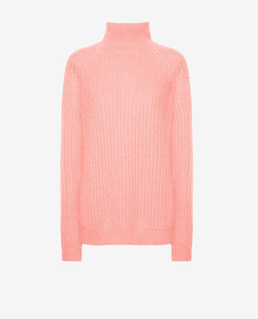 Turtle-neck jumper Pink blush Sensation