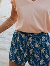 Pyjama shorts Arum sombrero blue Tam tam shaker