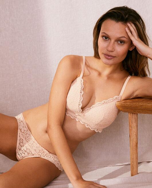 Soft cup padde bra Nude beige Paquerette