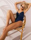Swimsuit Midnight blue Natte