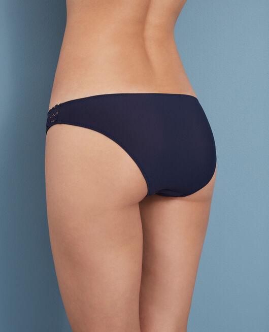 Culotte taille basse Bleu marine Monica