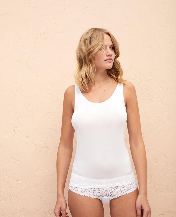 Caraco Blanc Air lingerie