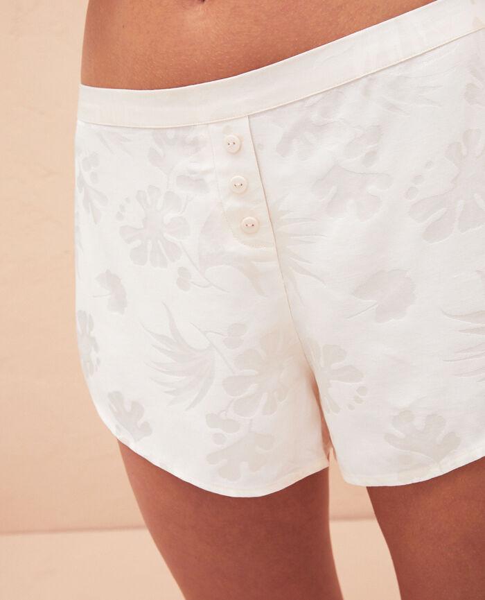 Short de pyjama Blanc rosé Menara