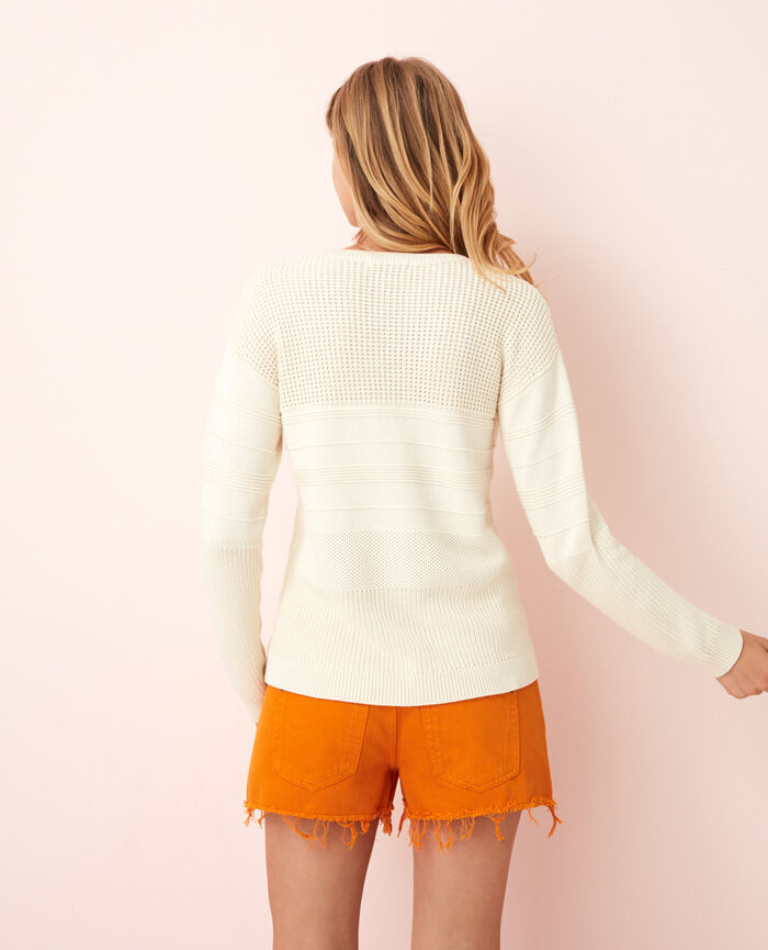 Pull Ivoire Cachou